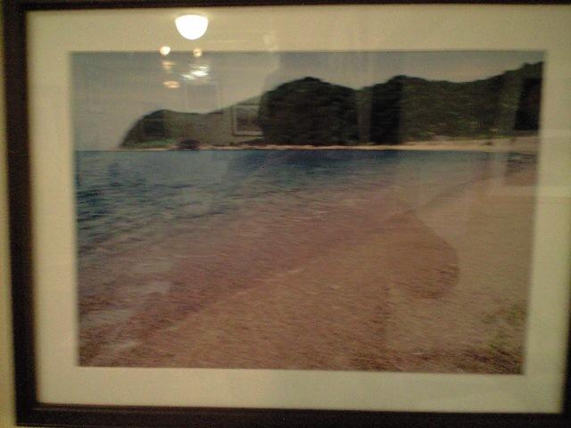 上関原発予定地の浜