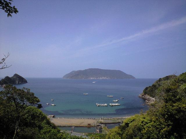 田ノ浦と祝島
