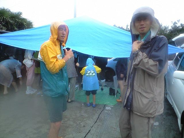 長島ウォーク&クリーニング&キャンドル