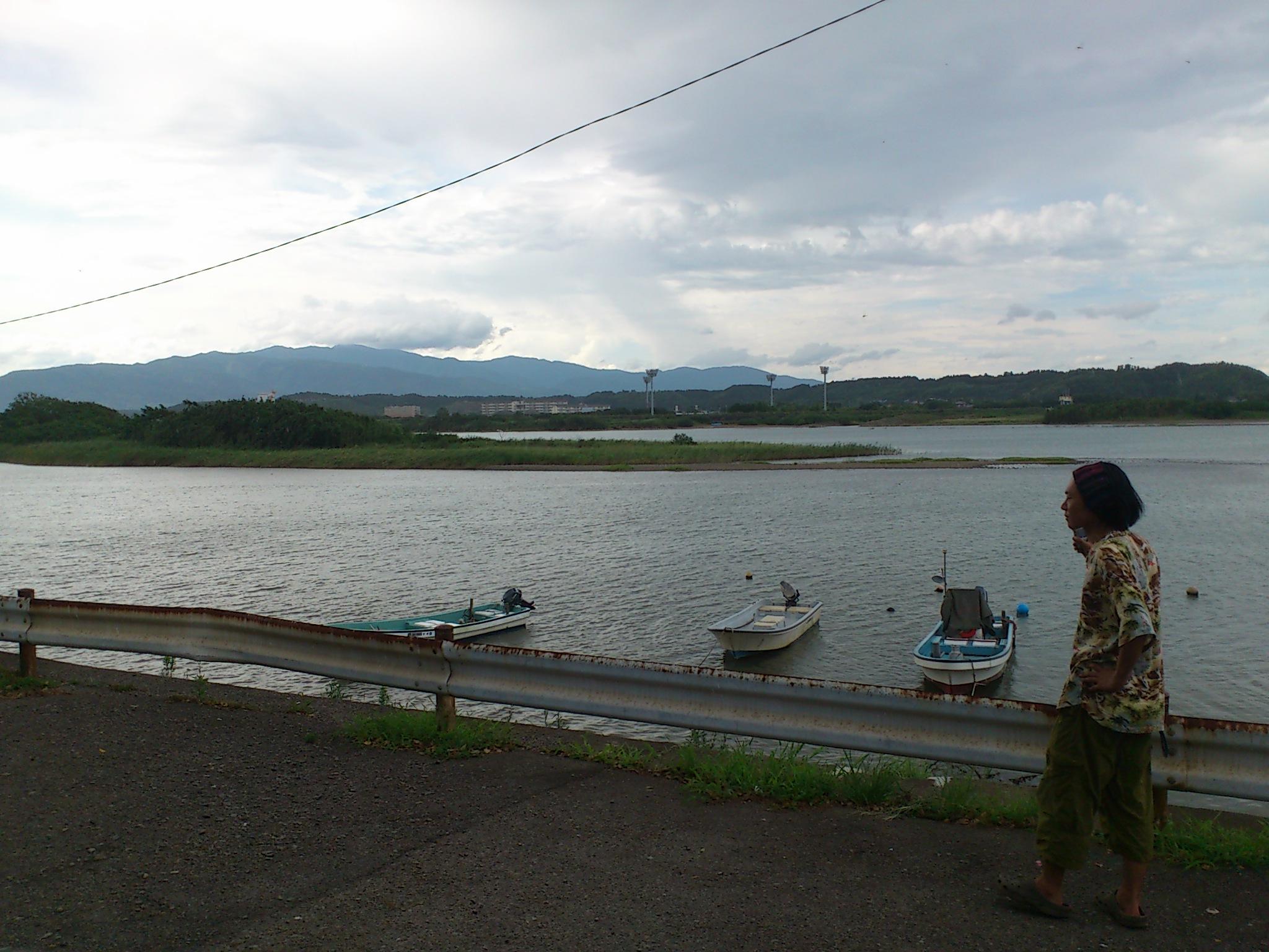 @宮崎県高鍋。サイハテの真くんと海旅キャンプのニシダッシュと来ています。