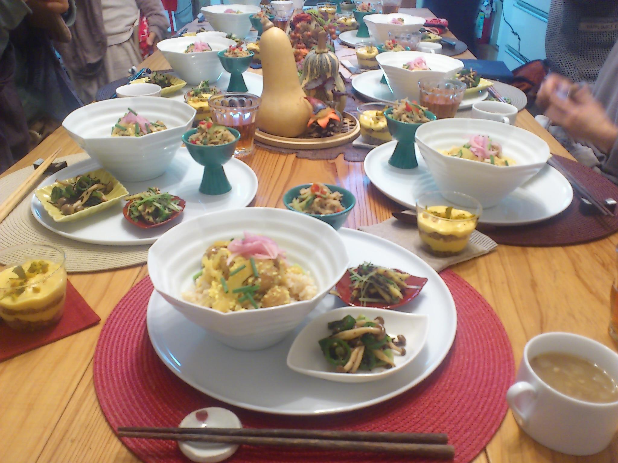 福岡にて。暦のワークショップ@マクロビオティック料理教室・五福