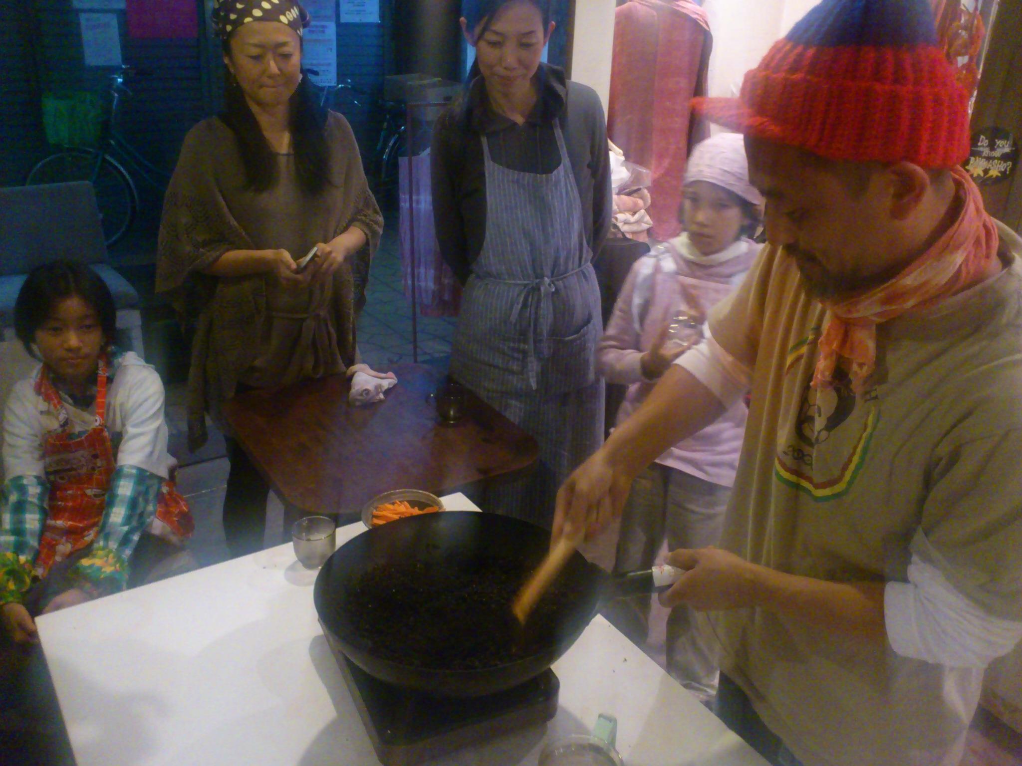 鉄火味噌作り@冨貴工房。奈良さんのリディムを入れて仕上がり◎